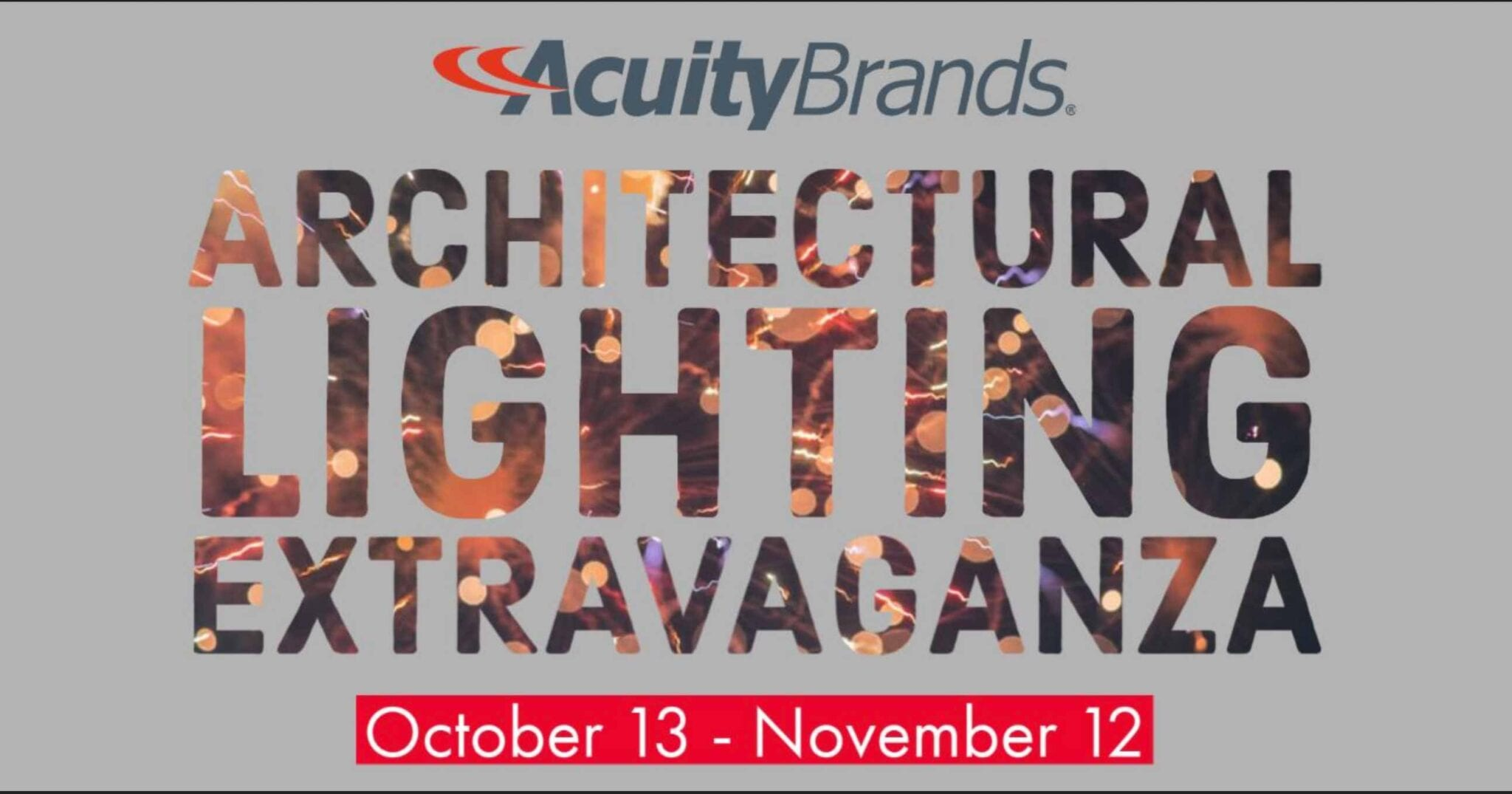 Acuity Brands Architectural Lighting Extravaganza