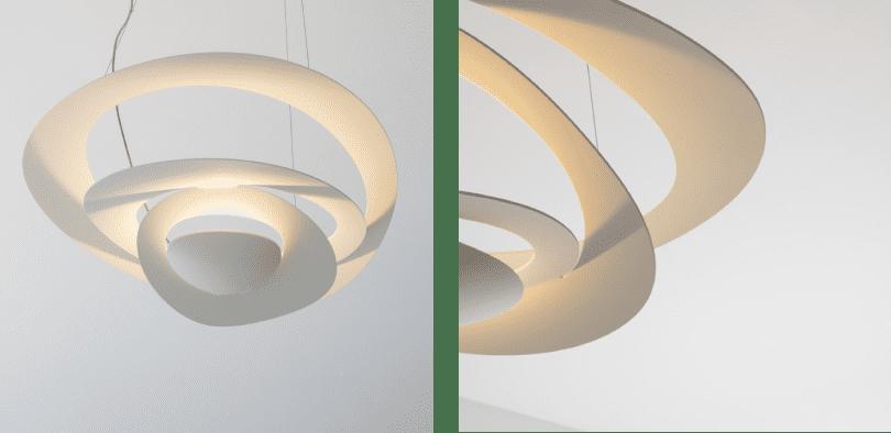 Artemide decorative lighting pirce suspension
