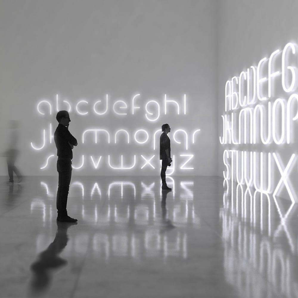 Photo courtesy of Artemide, Alphabet of Light Systems