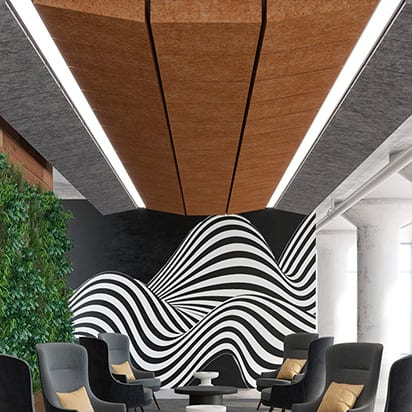 The Next Dimension in Acoustic Ceiling Tiles