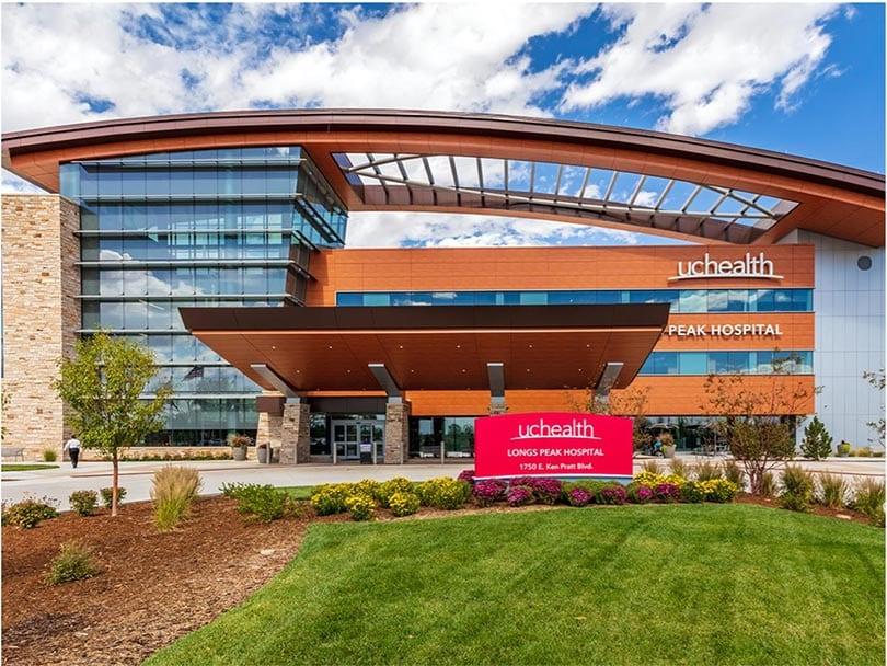LuTek Shades at UC Health Long's Peak Hospital