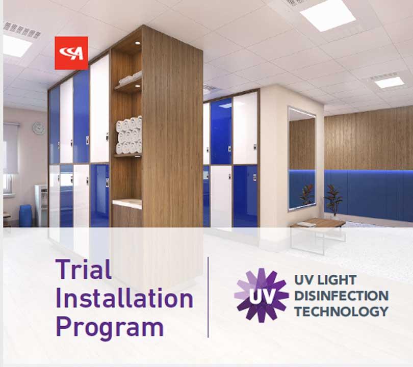 Acuity brands healthcare lighting trial installation program