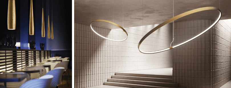 ZANEEN – LINE AND ZERO SHAPES - Industry Lighting Trends for 2021 – Interior Lighting