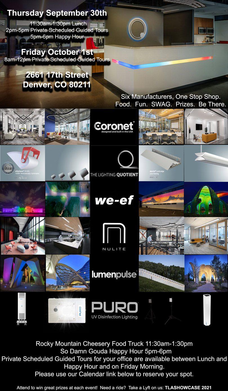 TLA manufacturer showcase flyer