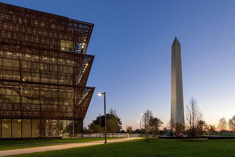 Smithsonian's National Museum of African American History and Culture featuring WE-EF lighting RFL540