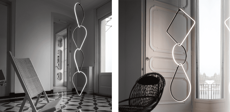 Arrangements decorative lighting by Flos