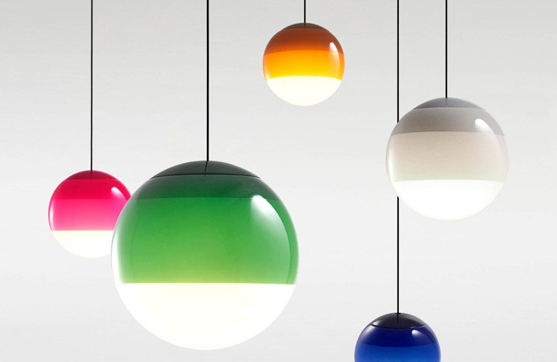 Dripping light pendant by Marset