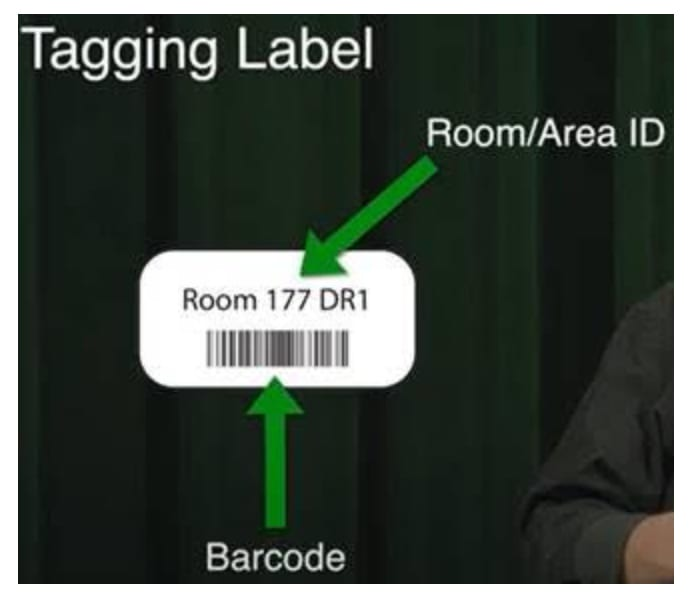 Reading a Tagging Label